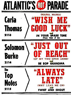 Billboard 1961年8月7日