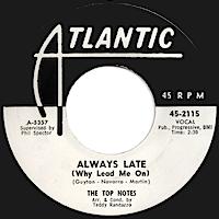オールウェイズ・レイト(ホワイ・リード・ミー・オン)/アイズレー・ブラザーズ(Always Late (Why Lead Me On)/The Isley Brothers)