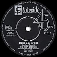 ツイスト・アンド・シャウト/アイズレー・ブラザーズ/ステイトサイド(Twist And Shout/The Isley Brothers/Stateside)